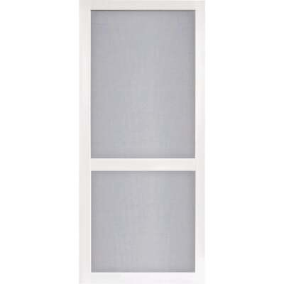 Screen Tight Vinylcraft 36 In. W x 80 In. H x 1 In. Thick White Vinyl Screen Door