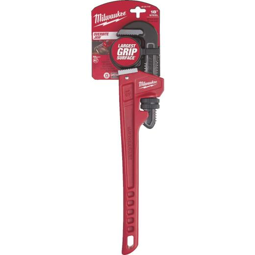 Milwaukee 18 In. Steel Pipe Wrench
