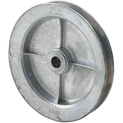 Chicago Die Casting 5 In. x 1/2 In. Single Groove Pulley