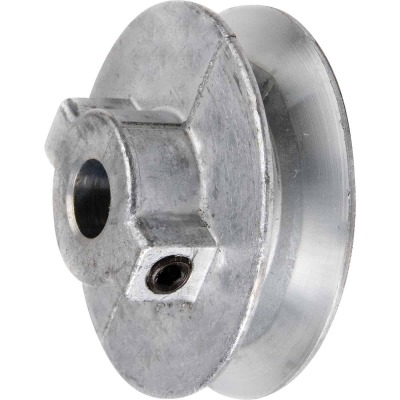 Chicago Die Casting 2 In. x 1/2 In. Single Groove Pulley