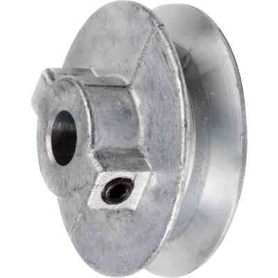 Chicago Die Casting 2-1/2 In. x 1/2 In. Single Groove Pulley