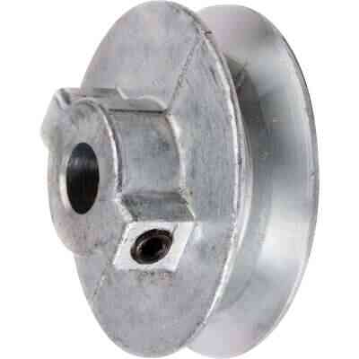 Chicago Die Casting 2-1/2 In. x 5/8 In. Single Groove Pulley