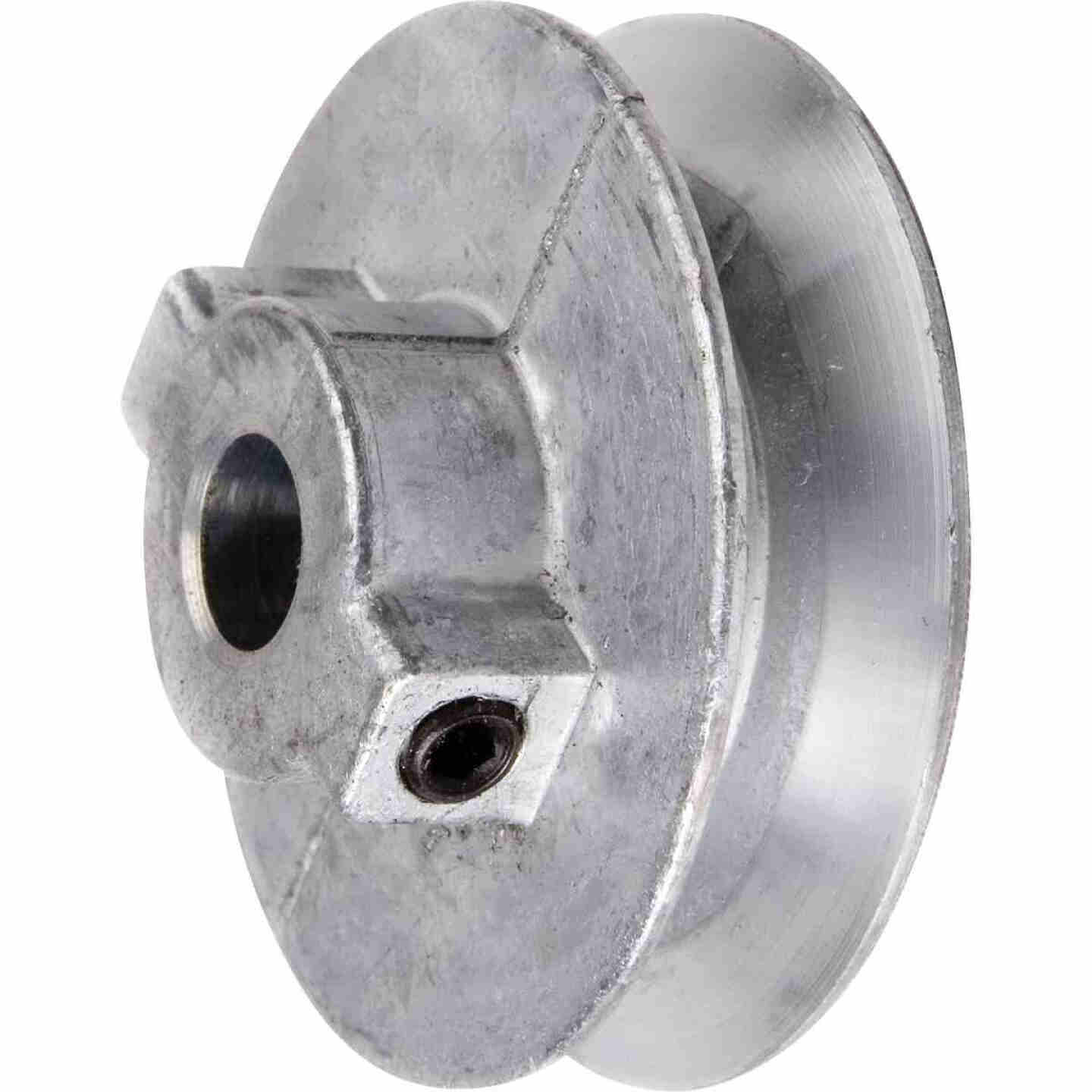 Chicago Die Casting 2-1/2 In. x 3/4 In. Single Groove Pulley Image 1