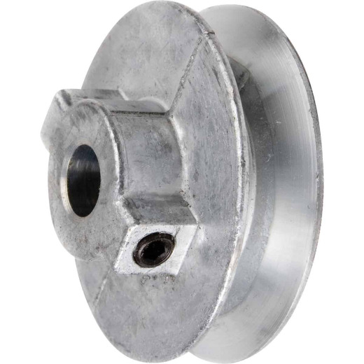 Chicago Die Casting 4 In. x 1/2 In. Single Groove Pulley