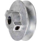 Chicago Die Casting 4-1/2 In. x 1/2 In. Single Groove Pulley Image 1