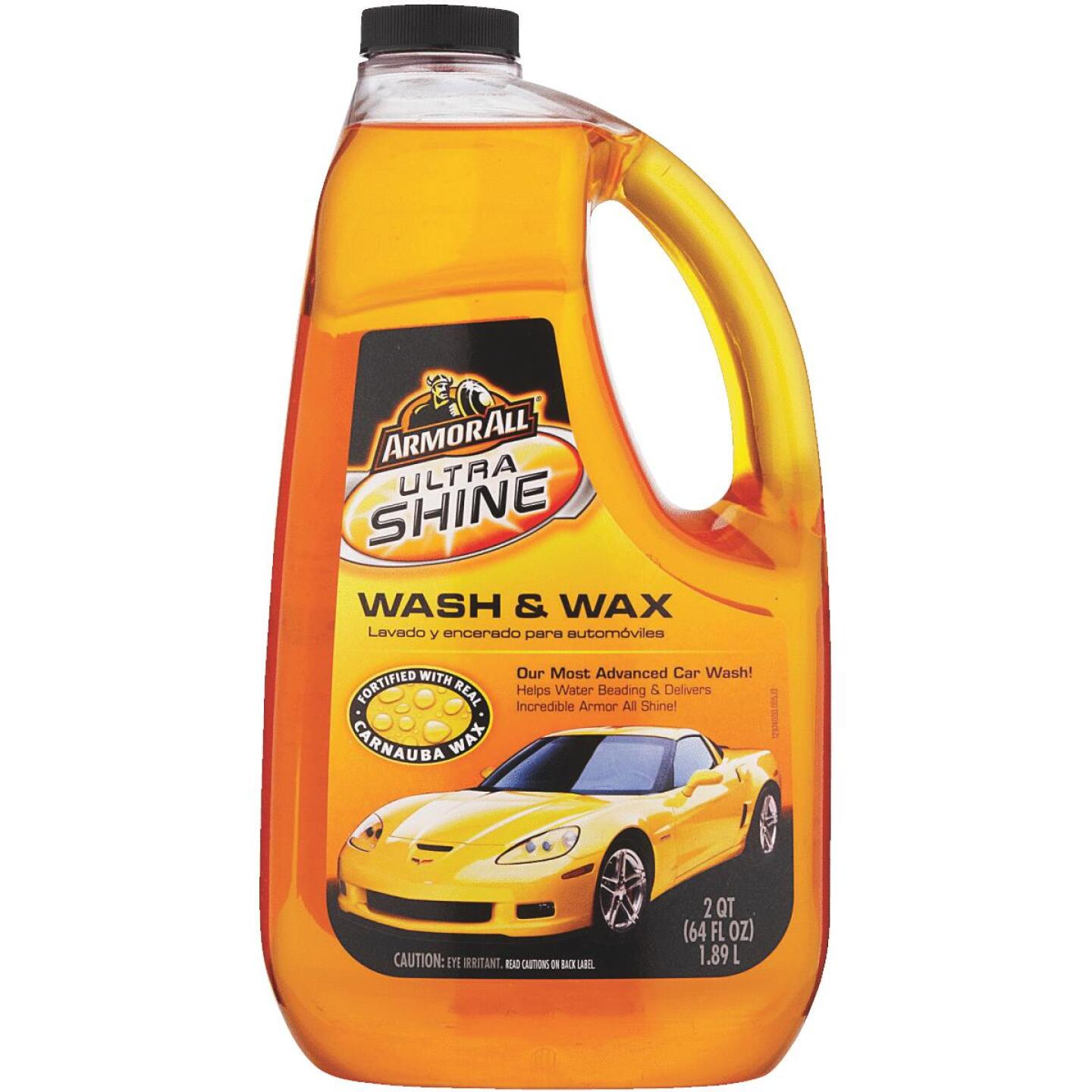 Armor All 64 Oz. Liquid Ultra Shine Car Wash & Wax Image 1