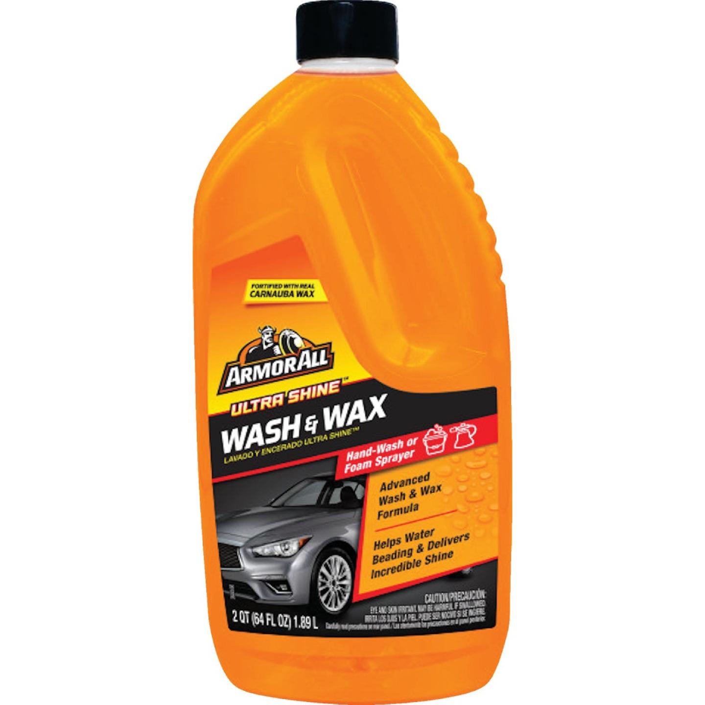 Armor All 64 Oz. Liquid Ultra Shine Car Wash & Wax Image 1