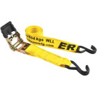 Erickson 2 In. x 10 Ft. 4000 Lb. Professional Series Ratchet Strap (2-Pack) Image 1