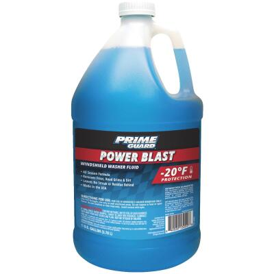Prime Guard Power Blast 1 Gal. -20 Deg F Windshield Washer Fluid w/Antifreeze