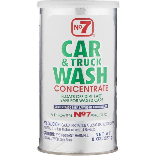 NO. 7 8 Oz. Liquid Concentrate Truck & Car Wash