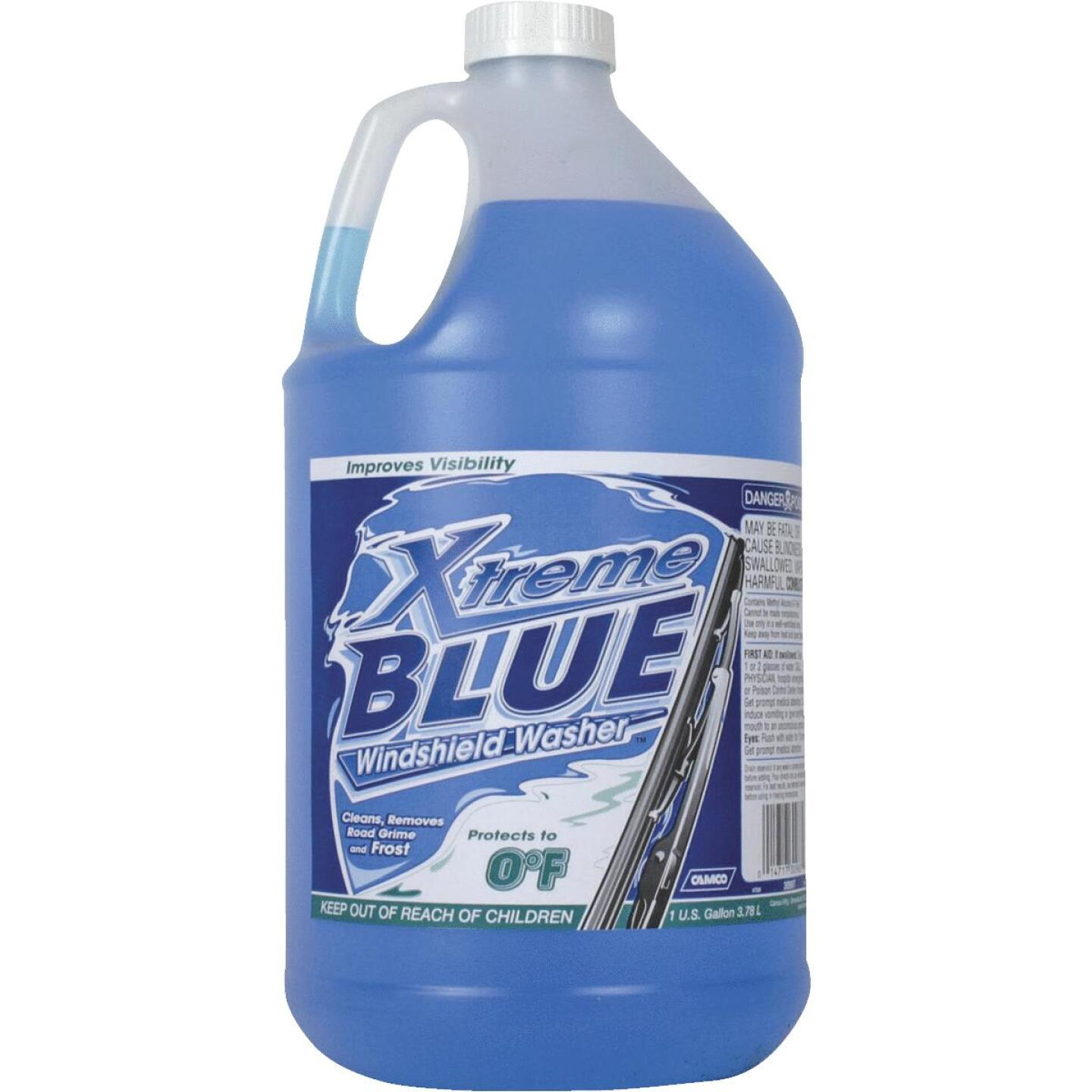 Camco Xtreme Blue 1 Gal. 0 Deg F Temperature Rating Windshield Washer Fluid with Antifreeze Image 1