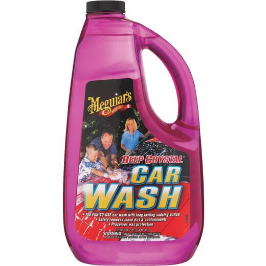 Meguiars 64 Oz. Liquid Deep Crystal Car Wash