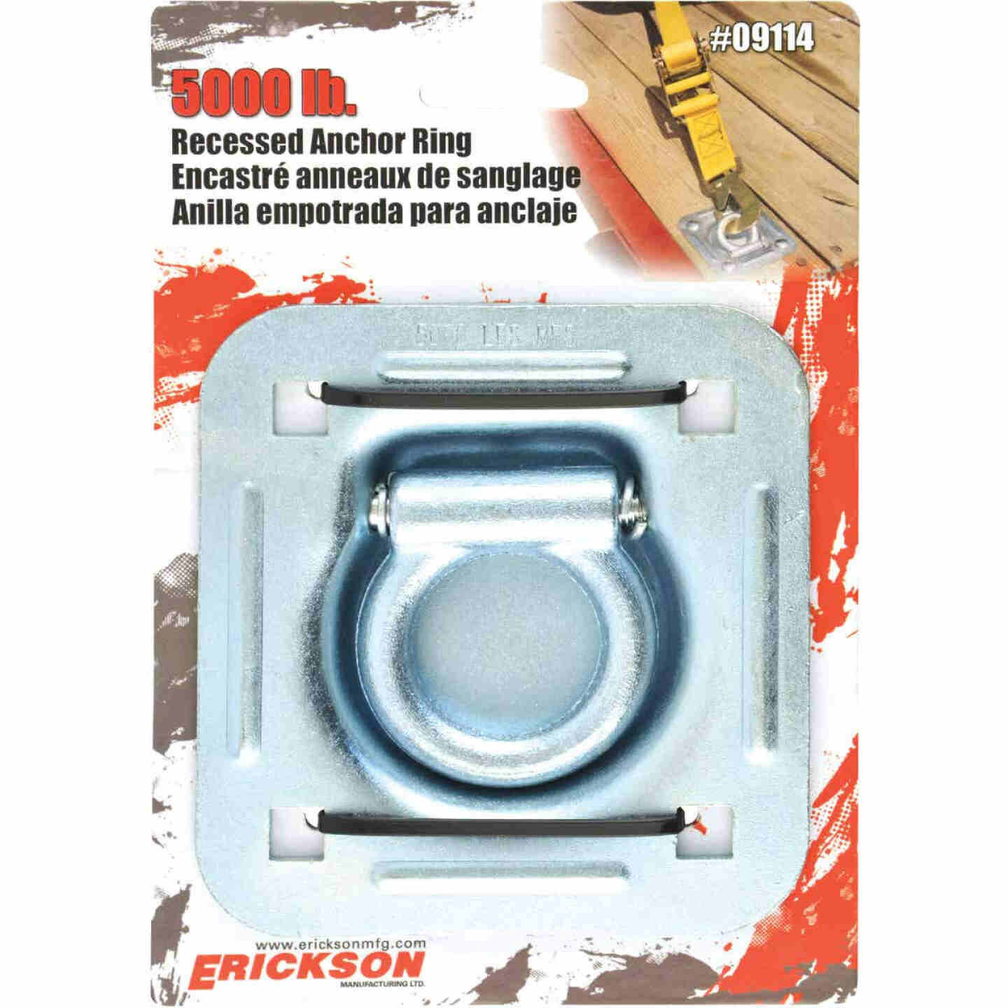 Erickson Recessed 5000 Lb. Anchor Ring Image 2