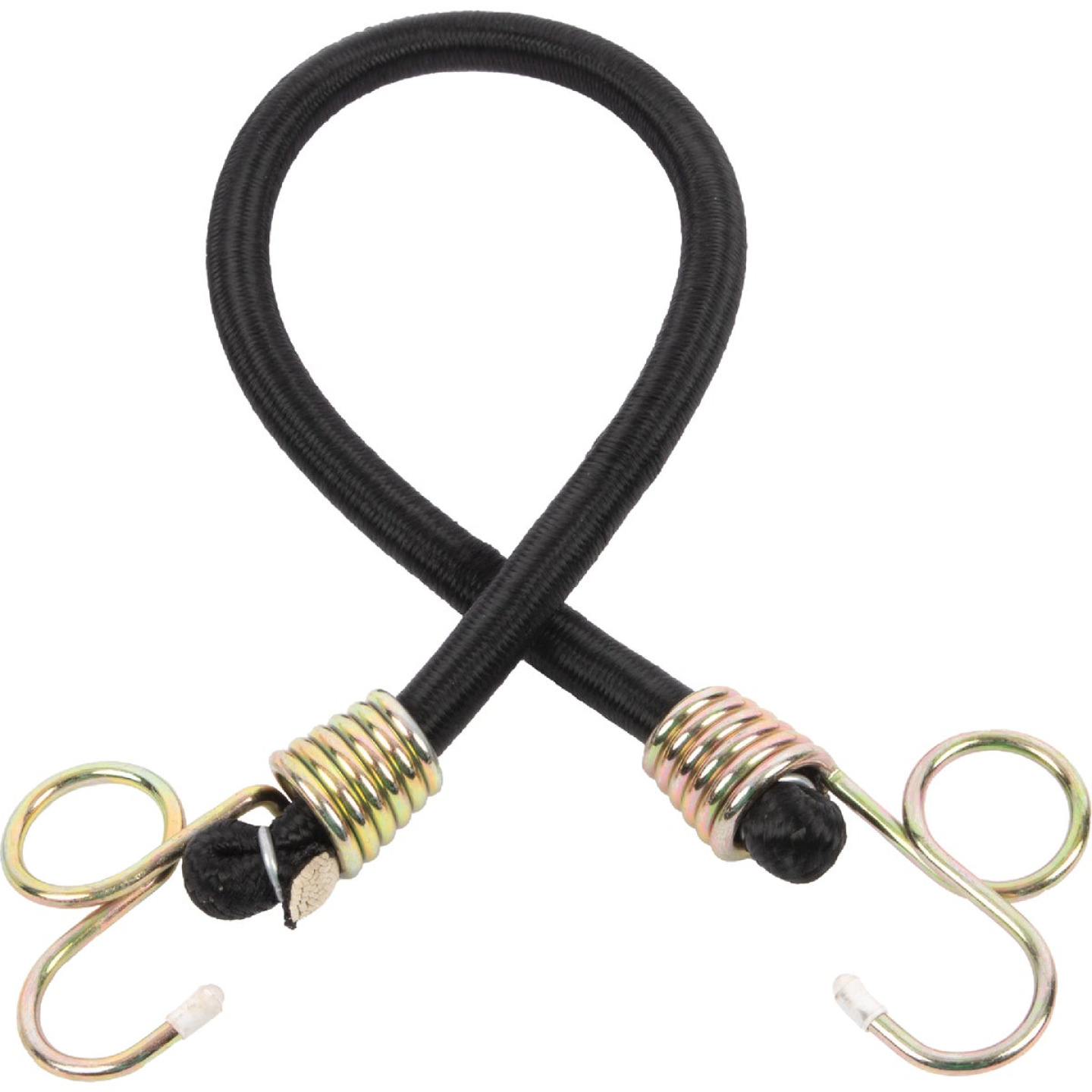 Erickson 1/2 In. x 24 In. Industrial Power Pull Bungee Cord, Black Image 1