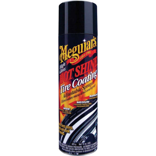 Meguiars Hot Shine 15 Oz. Trigger Spray Tire Coating