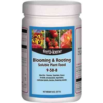 Ferti-lome 8 Oz. 9-58-8 Bloom & Root Soluble Dry Plant Food