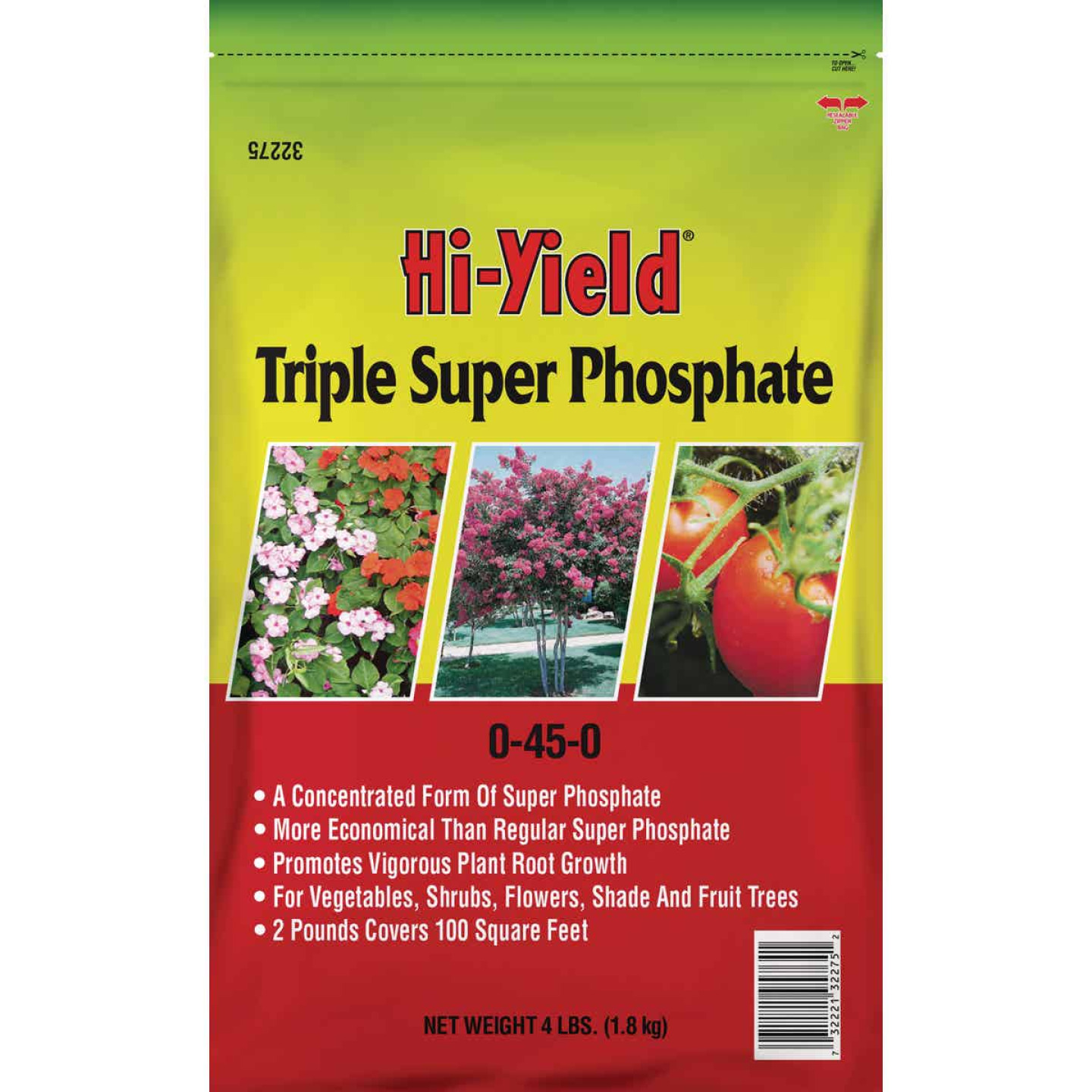 Hi-Yield 4 Lb. 0-45-0 Triple Super Phosphate Dry Plant Food Image 1