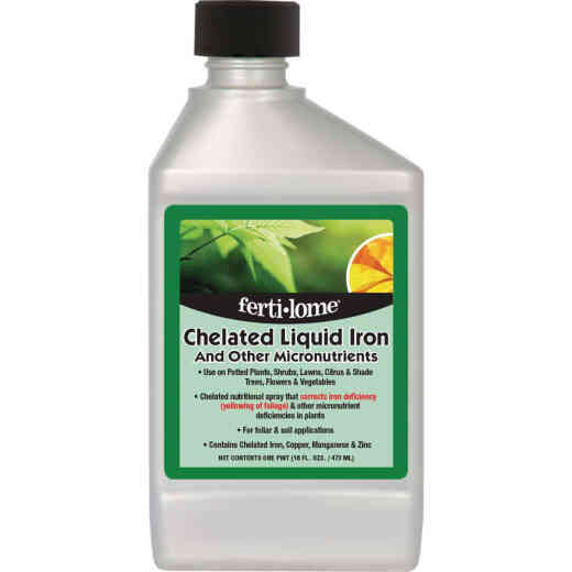 Ferti-lome 16 Oz. Chelated Iron Formulation Concentrate Liquid Plant Food