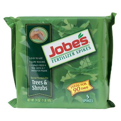 Jobe's 16-4-4 Tree & Shrub Fertilizer Spikes (5-Pack)