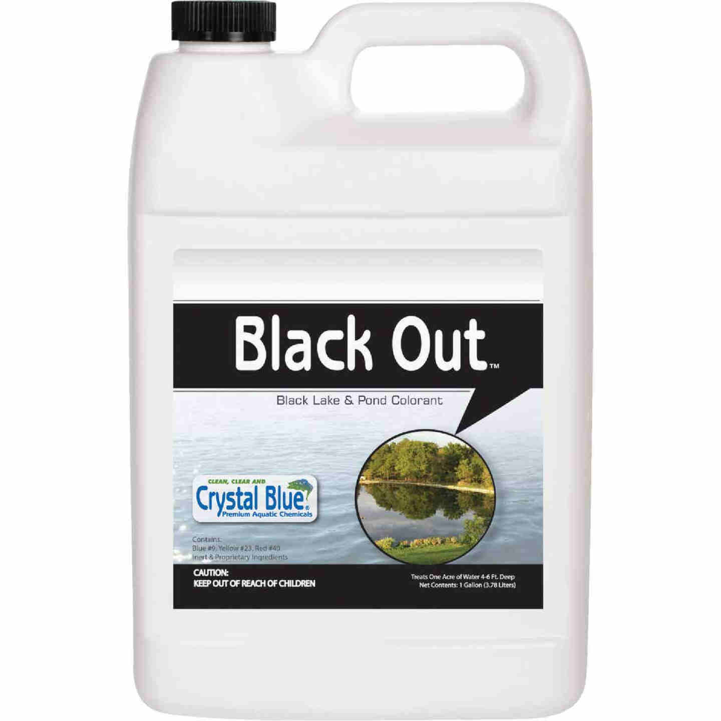 Black Out 1 Gal. 1-Acre Reflective Lake & Pond Colorant Image 1