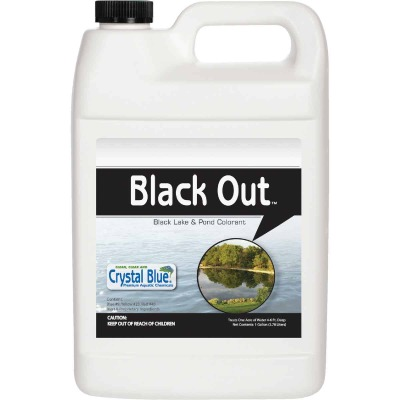 Black Out 1 Gal. 1-Acre Reflective Lake & Pond Colorant