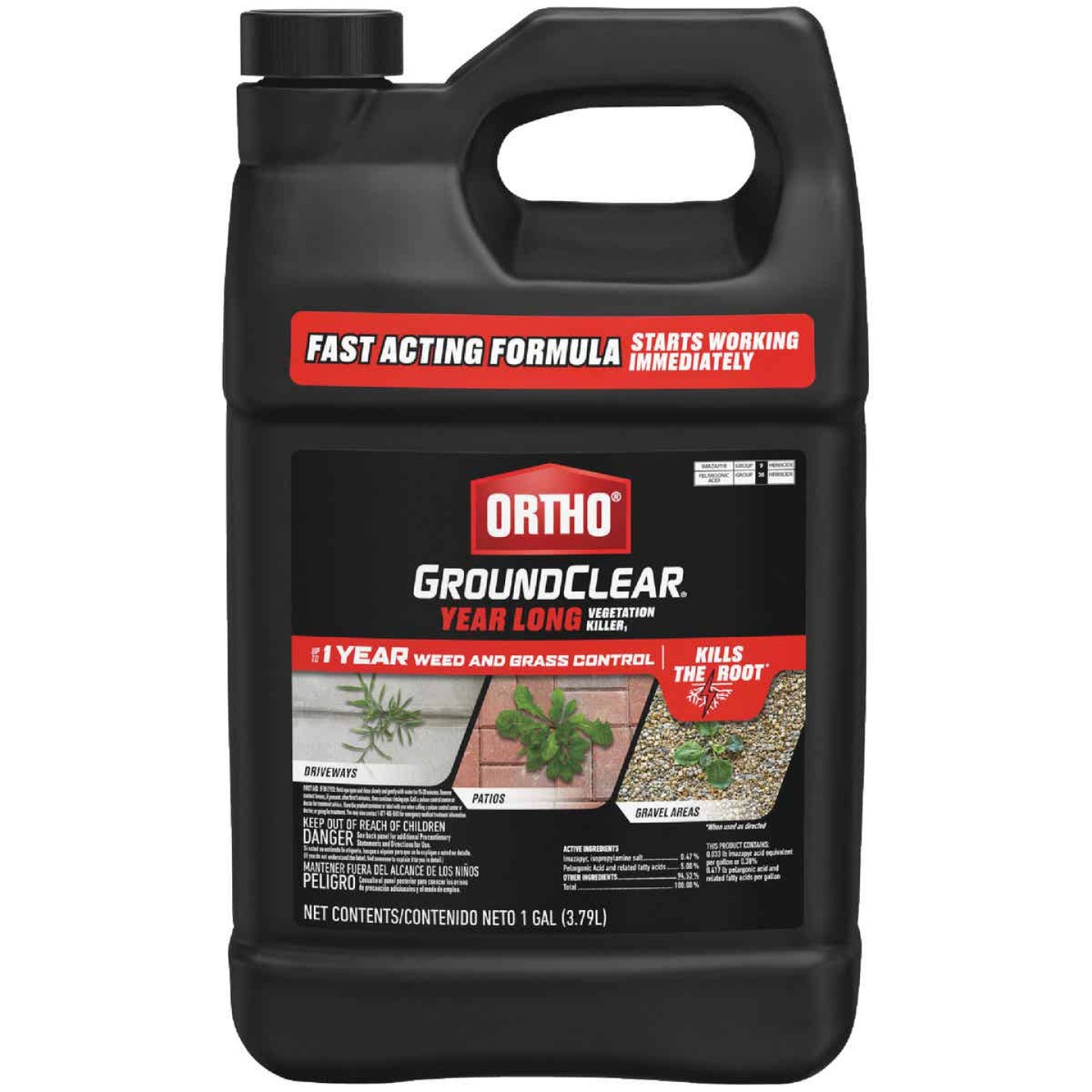 Ortho GroundClear 1 Gal. Concentrate Vegetation Killer Image 1