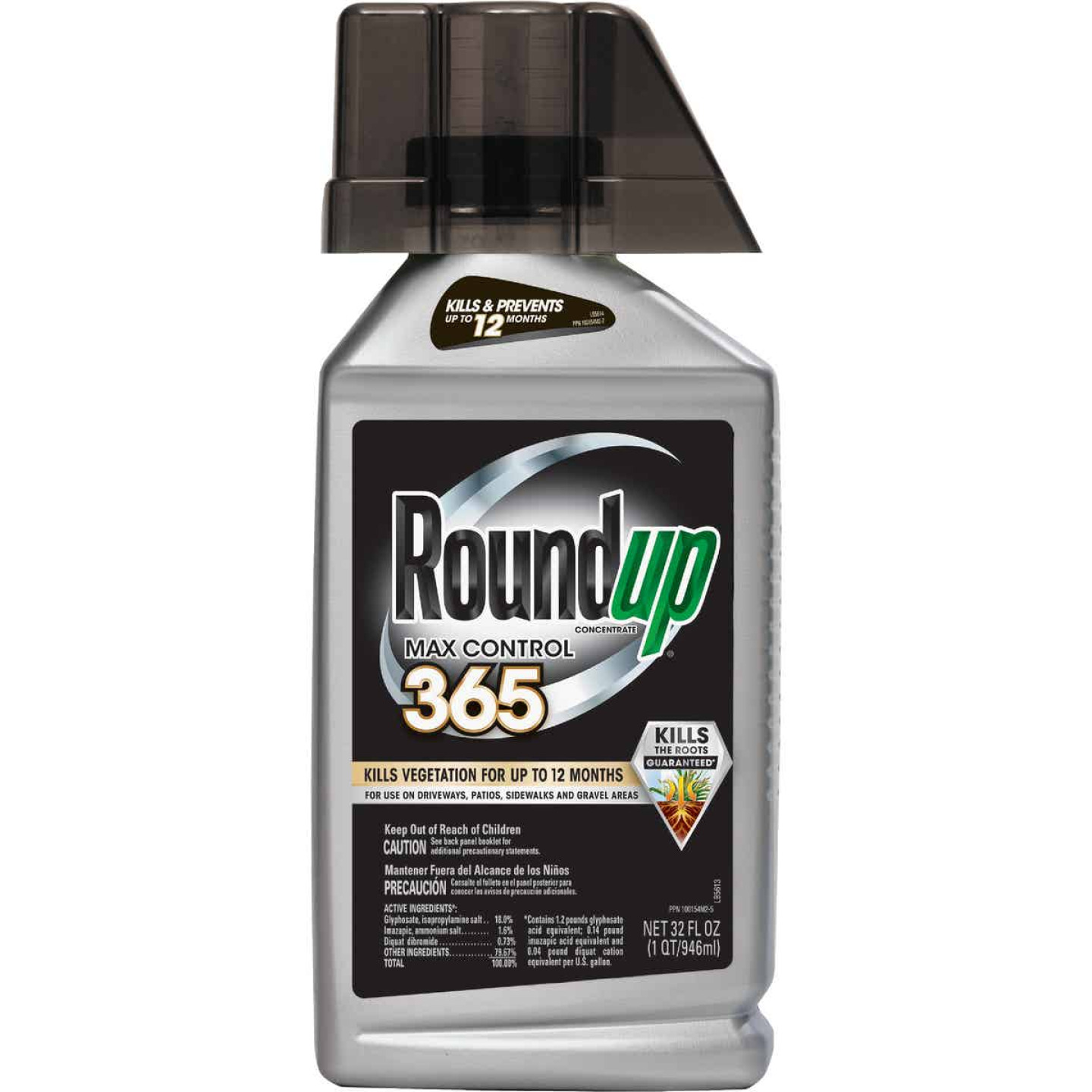 Roundup Max Control 365 1 Qt. Concentrate Vegetation Killer Image 1