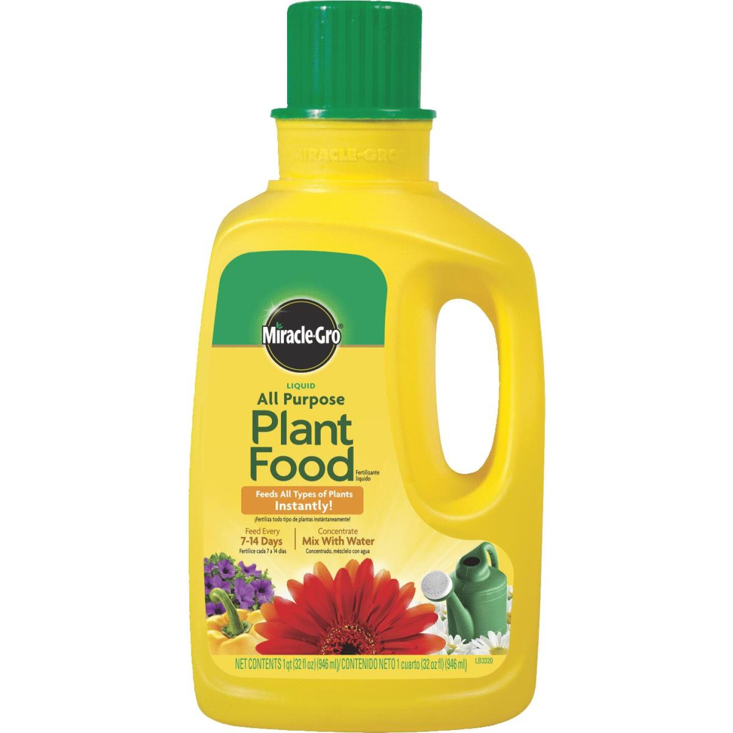 Miracle-Gro 32 Oz. 12-4-8 Concentrate Liquid Plant Food Image 1
