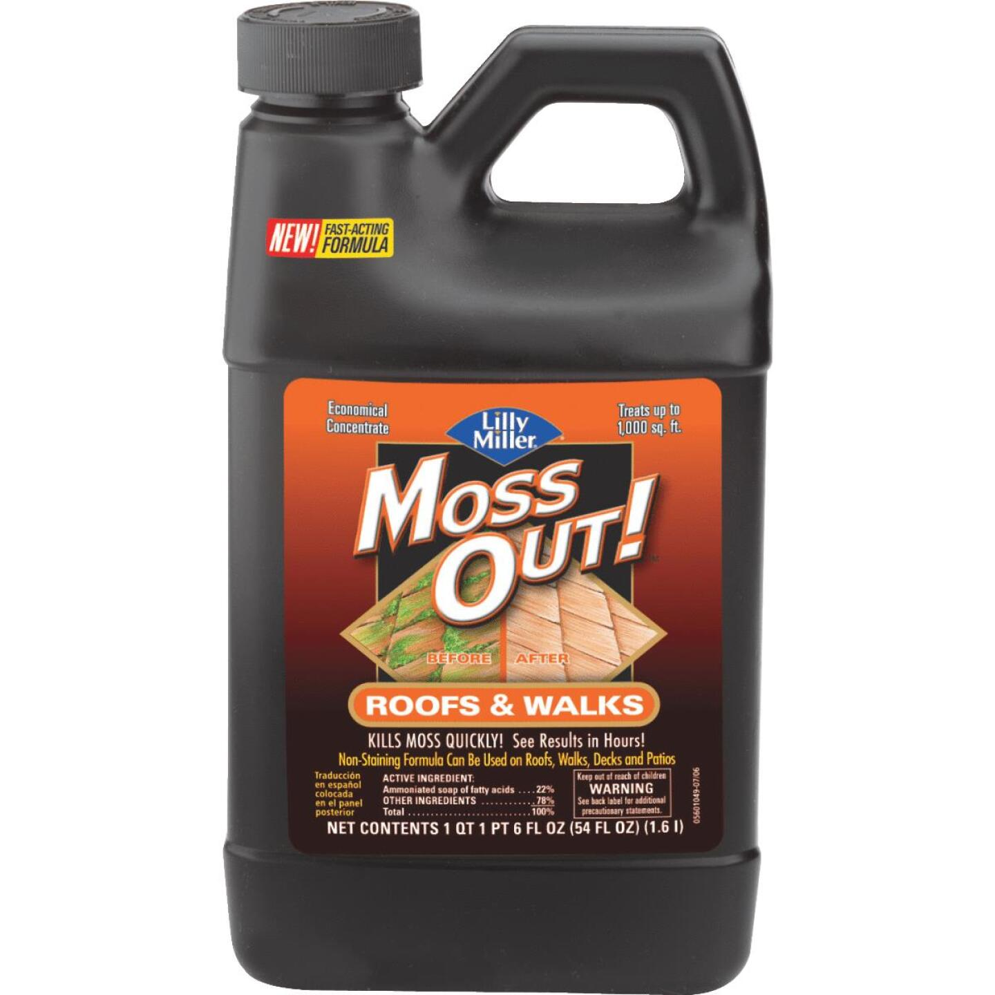 Lilly Miller MOSS OUT! 54 Oz. Concentrate Moss & Algae Killer Image 1