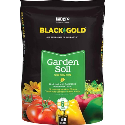 Black Gold 1 Cu. Ft. 30 Lb. All Purpose Garden Soil