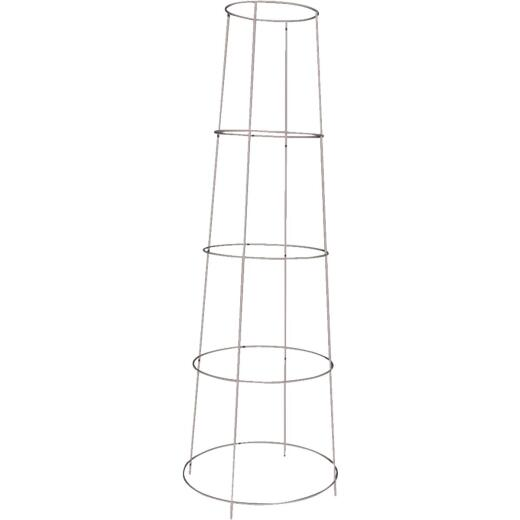 Panacea 48 In. Galvanized Heavy-Duty Wire Inverted Tomato Cage