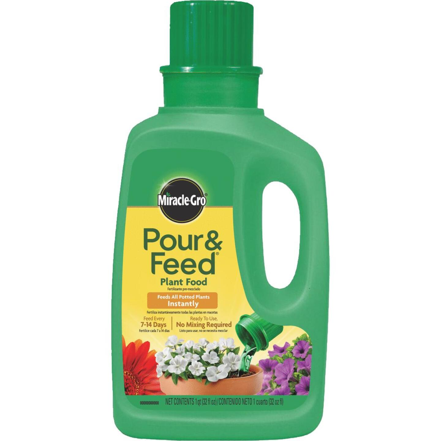 Miracle-Gro 32 Oz. 0.02-0.02-0.02 Ready To Use Liquid Plant Food Image 1