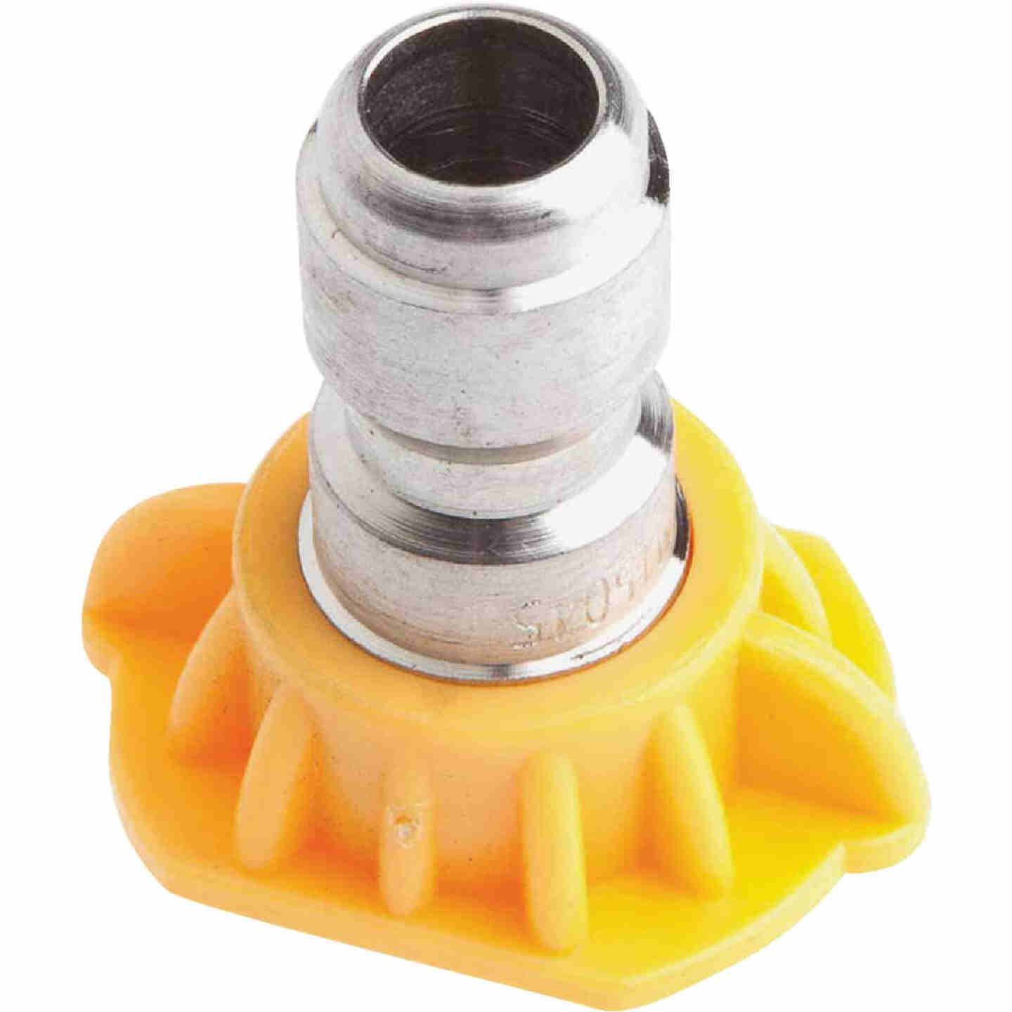 Forney Quick Connect 4.5mm 15 Deg. Yellow Pressure Washer Spray Tip Image 3