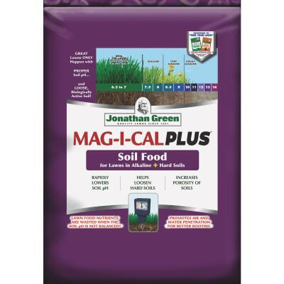 Jonathan Green MAG-I-CAL Plus 18 Lb. 5000 Sq. Ft. 18% Calcium Lawn Fertilizer For Alkaline Soil