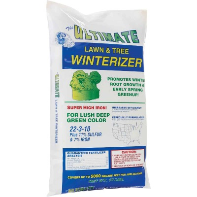 Ultimate 18 Lb. 5000 Sq. Ft. 22-3-10 Lawn And Tree Winterizer Fall Fertilizer