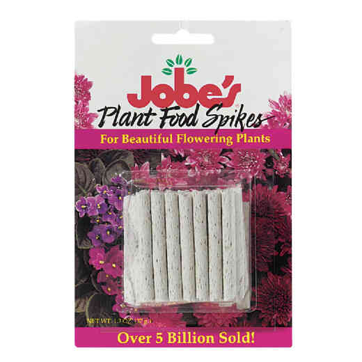 Jobe's 10-10-4 Flowering Plant Food Spikes (50-Pack)