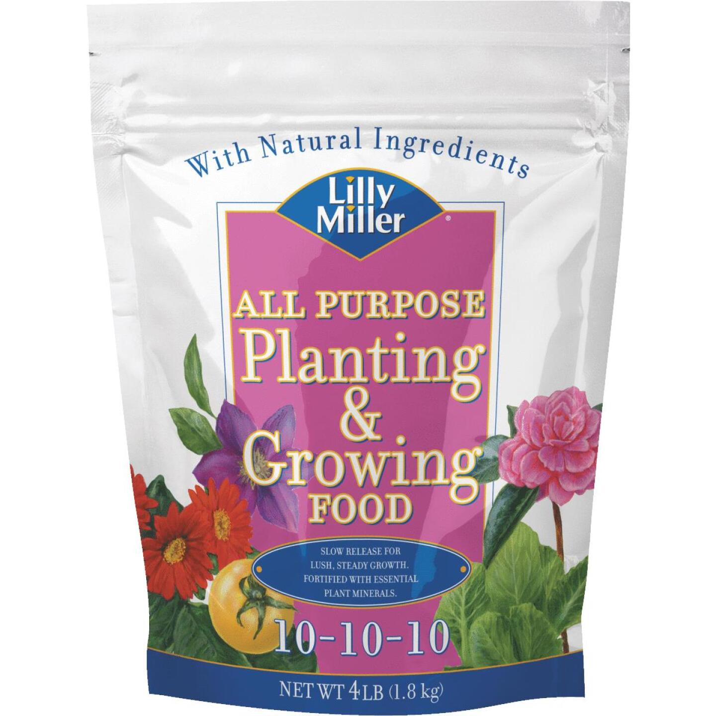 Lilly Miller 4 Lb. 10-10-10 All Purpose Dry Plant Food Image 1