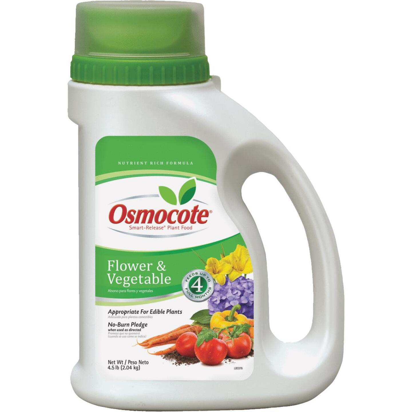 Osmocote 4.5 Lb. 14-14-14 Flower & Vegetable Smart Release Dry Plant Food Image 1