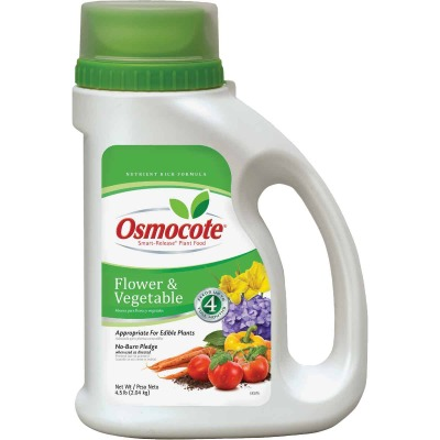 Osmocote 4.5 Lb. 14-14-14 Flower & Vegetable Smart Release Dry Plant Food