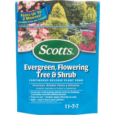 Scotts 3 Lb. 11-7-7 Evergreen, Flowering Tree & Shrub Fertilizer
