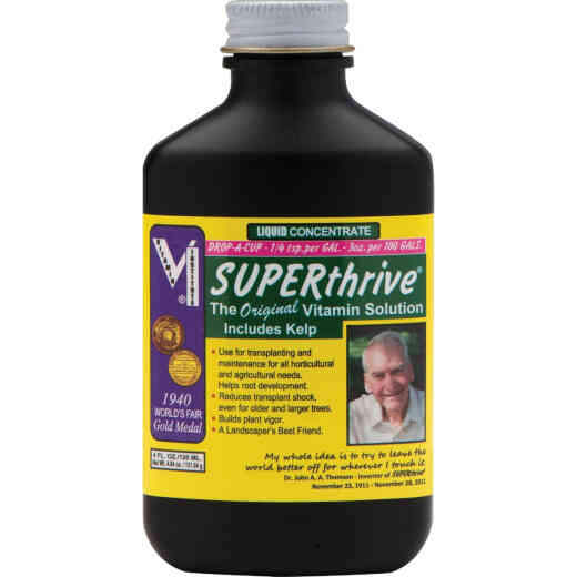 Superthrive 4 Oz. Concentrate Liquid Plant Vitamin Solution