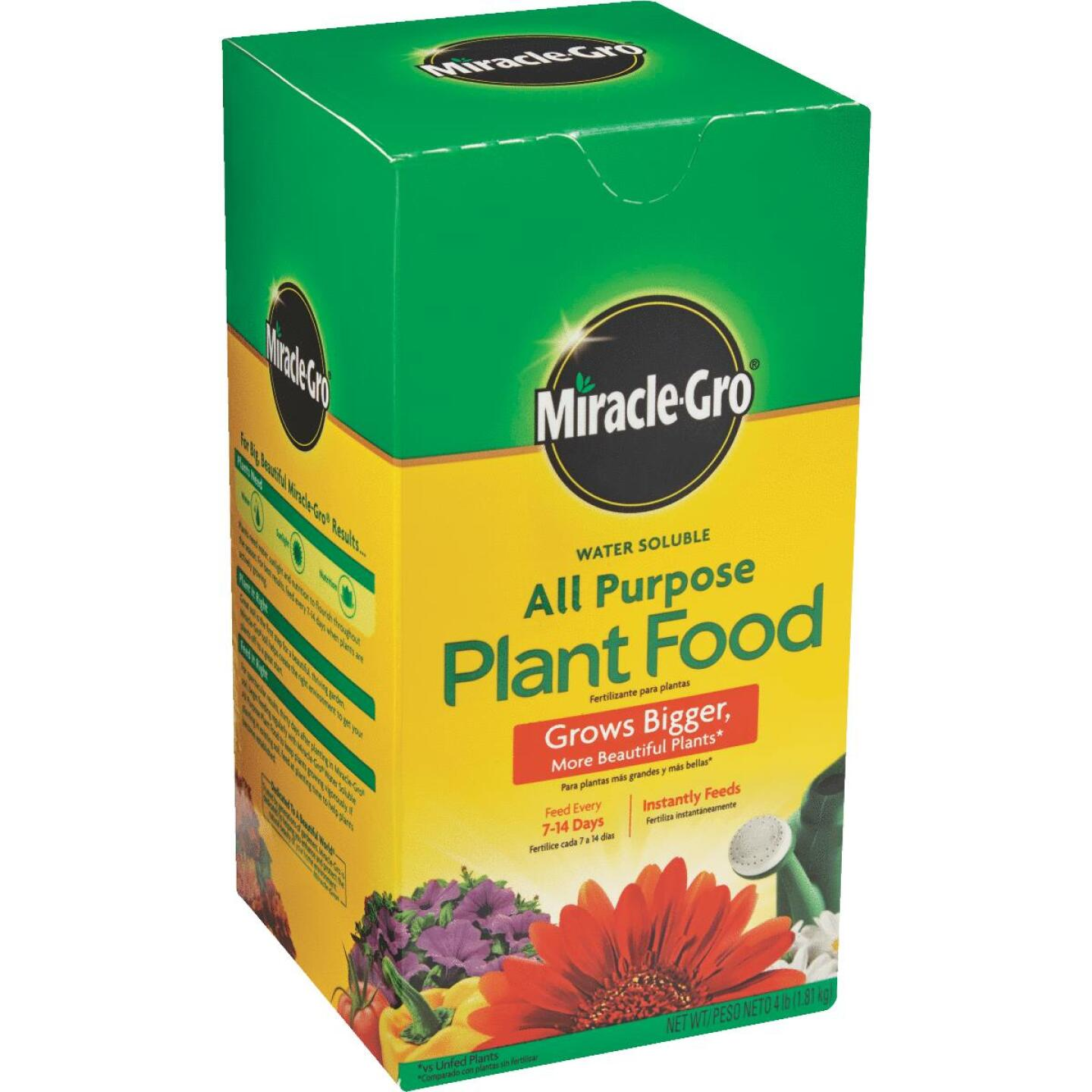 Miracle-Gro 4 Lb. 24-8-16 All Purpose Dry Plant Food Image 2
