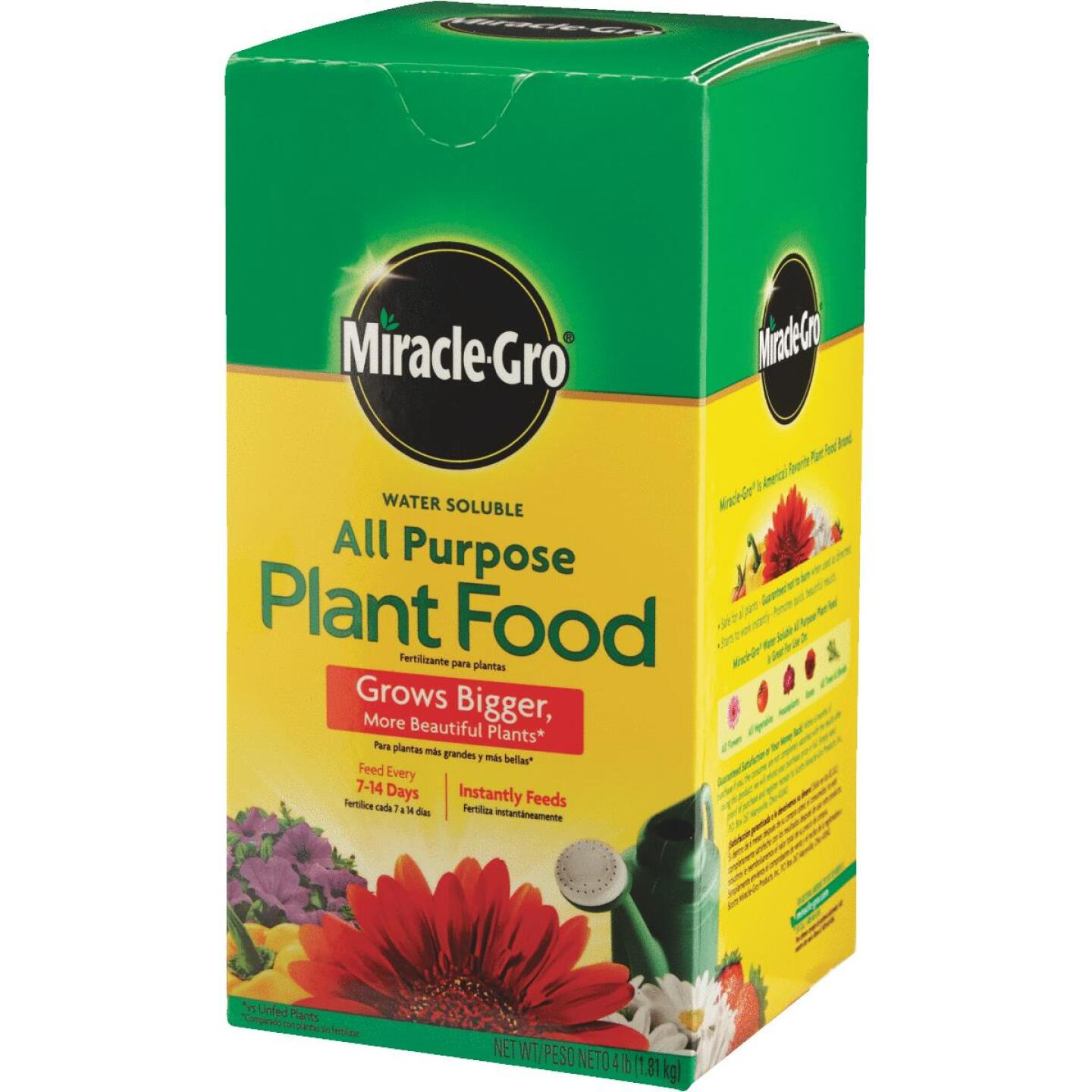 Miracle-Gro 4 Lb. 24-8-16 All Purpose Dry Plant Food Image 5