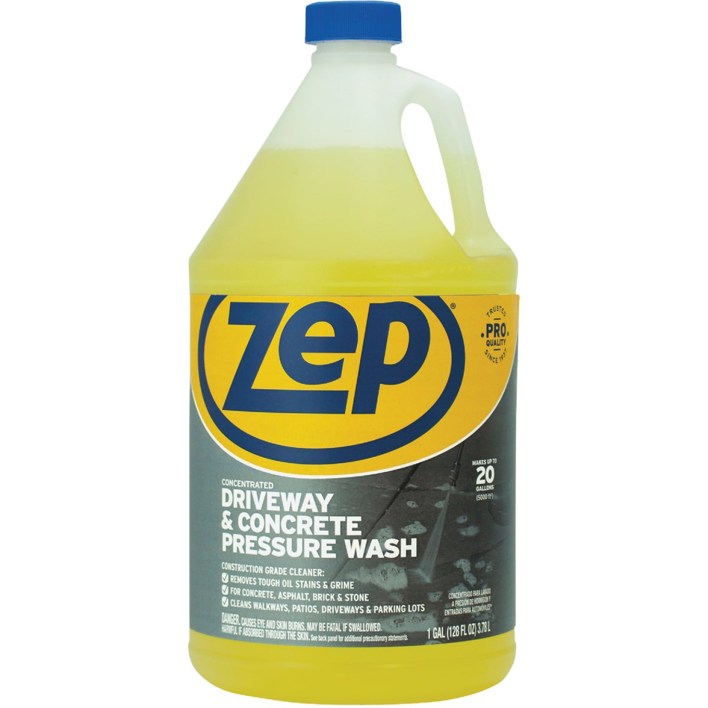 Krud Kutter 1 Gal. Concrete & Driveway Pressure Washer Concentrate Cleaner Image 1