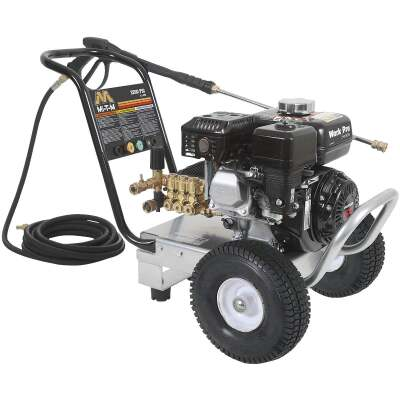 Mi-T-M Work Pro 3200 psi 2.4 GPM Cold Water Gas Pressure Washer